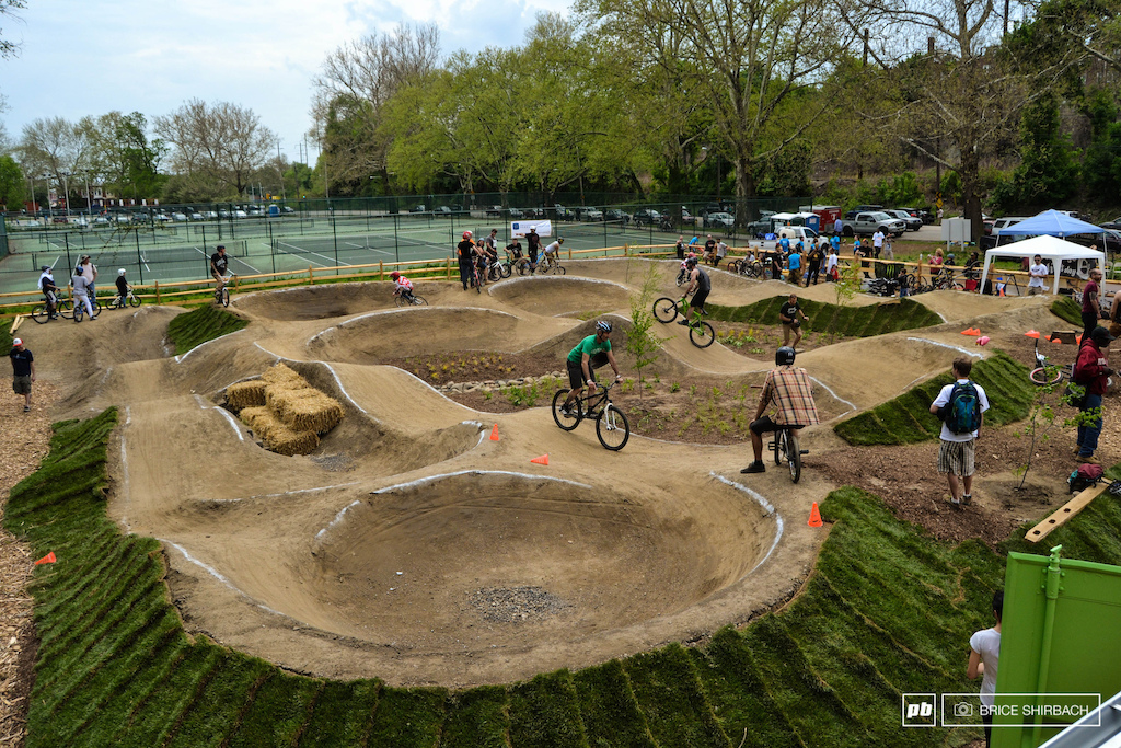 Pump Track In Bellingham The Hub